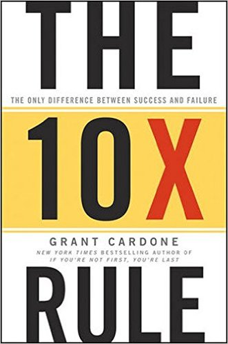 The 10X Rule by Grant Cardone : Book Summary