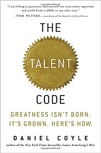 an examination of the book the talent code by daniel coyle Daniel coyle bantam books the talent code the talent code a bantam book / may 2009 published by bantam dell a division of random house, inc new york, new york  16 the talent code suddenly sharpened if this had been a test, your column b score would have been 300 percent higher.