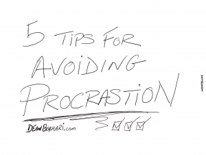 5 Tips for Avoiding Procrastination