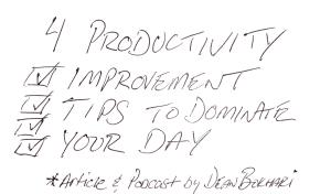 Productivity_Improvement_Tips_Podcast_Article_Image_Dean_Bokhari