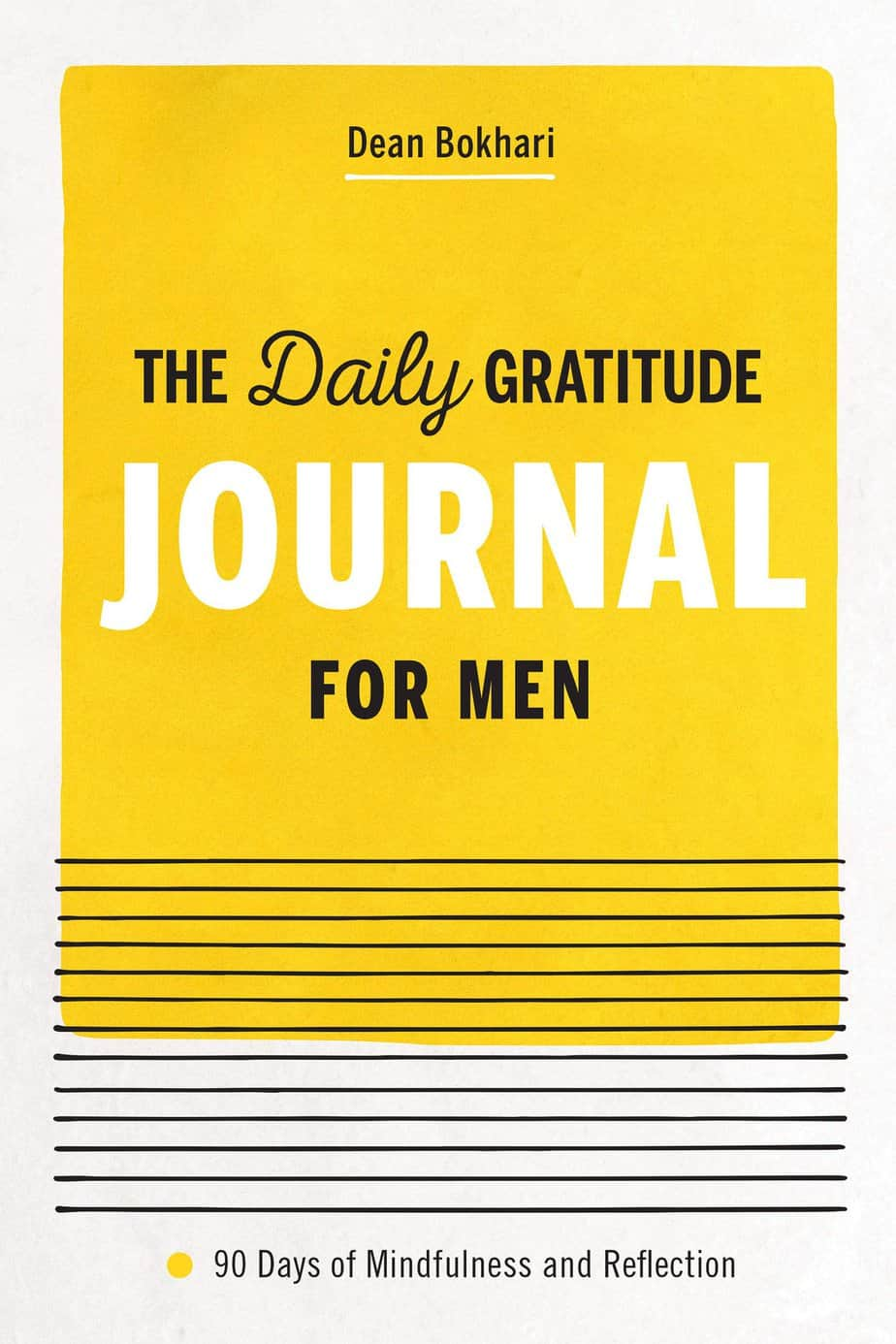 daily_gratitude_journal_for_men_by_Dean_Bokhari_cover
